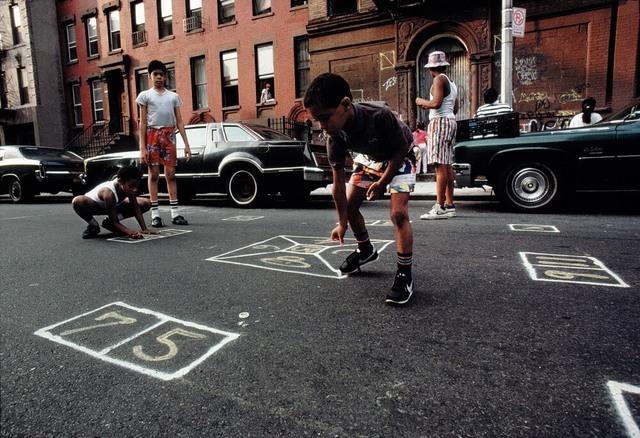 , 'Skeely Street Game, Spanish Harlem, NY,' 1987, Galerie Bene Taschen