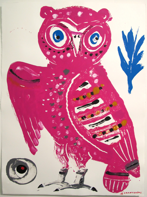 , 'Owl # 5 - The Wise Guys,' 2017, DECORAZONgallery