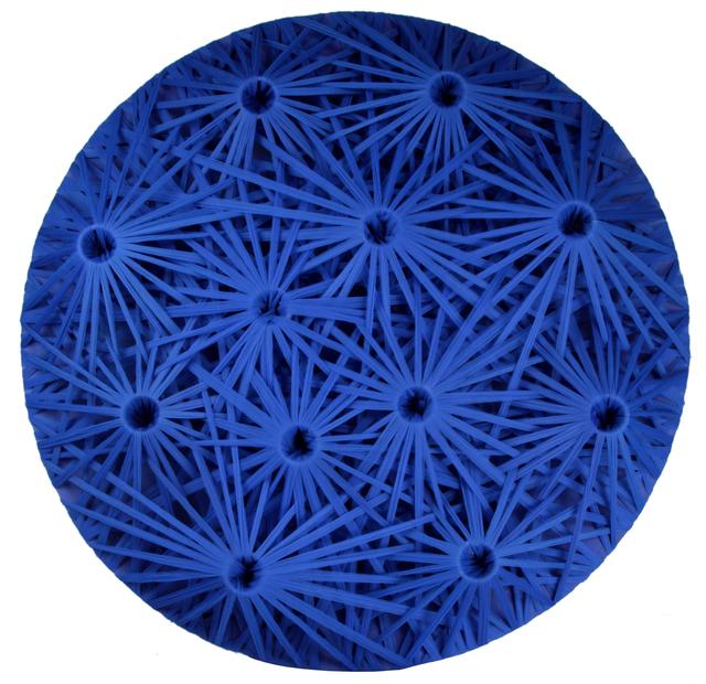 , 'Linear Fractal Blue,' 2015, GR Gallery