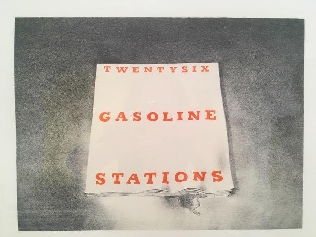Ed Ruscha, 'Twenty Six Gasoline Stations (from the Book Covers series)', 1970, David Benrimon Fine Art