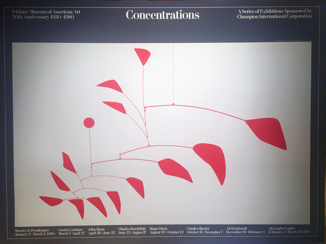 Alexander Calder, 'Concentrations', 1980, Woodward Gallery