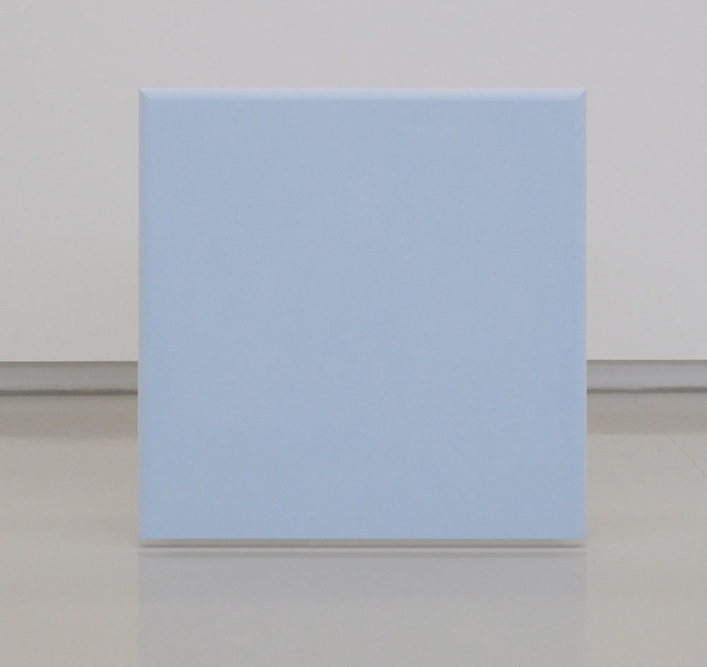 , 'Azzurro tenue-cornice toro,' 2015, Lia Rumma