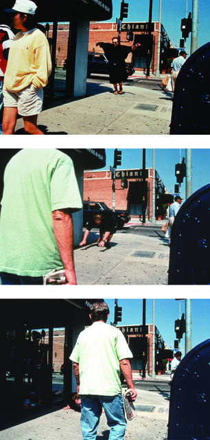 , 'Tripping photos #2, A, B, C (Melrose),' 1995, Mitchell-Innes & Nash
