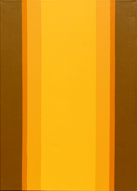 , 'yellow shine,' 2016, BUENOS AIRES FINE ARTS