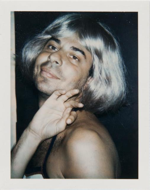 Andy Warhol, 'Andy Warhol, Polaroid Photograph of Bob Colacello in Drag, 1974', 1974, Hedges Projects