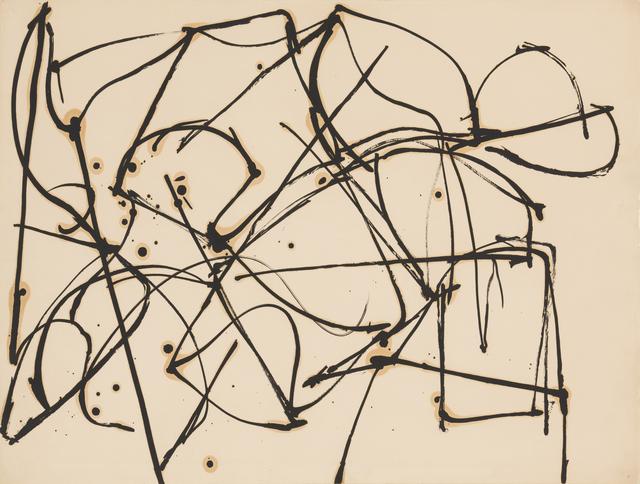Jack Tworkov, 'Untitled (Gesture) (JT614) ', ca. 1950, David Klein Gallery
