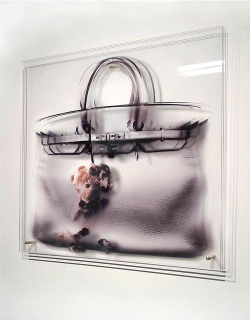 , 'FEMMES AU BORD DE LA CRISE DE GUERRE - Teddy Bear bag,' 2014, Mark Hachem Gallery