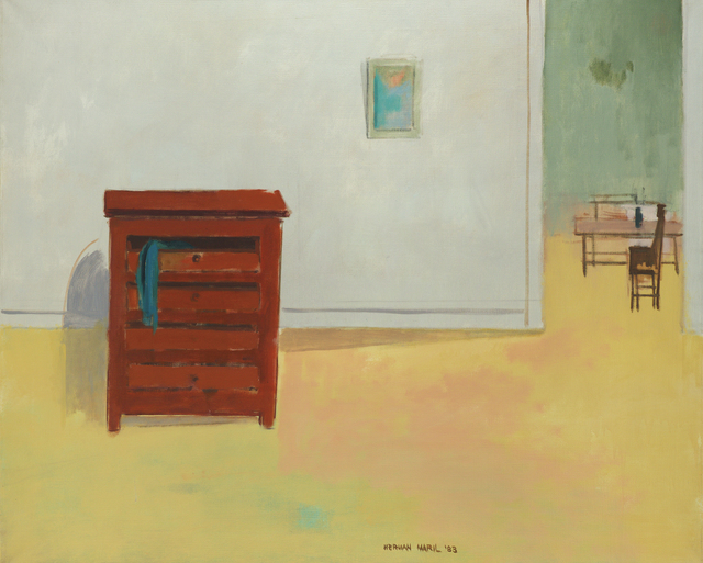 , 'Interior with Dresser,' 1983, Debra Force Fine Art