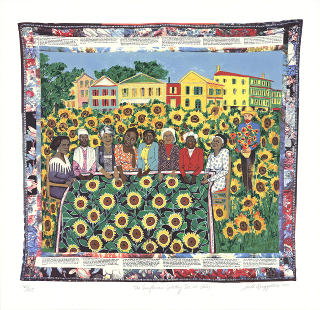 Faith Ringgold, 'The Sunflower's Quilting Bee at Arles', 1997, ArtWise