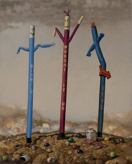 , 'Trinitas,' 2015, Catharine Clark Gallery