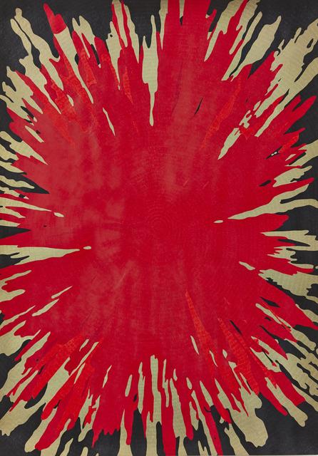 , 'Bang (Red),' 2016, WHATIFTHEWORLD