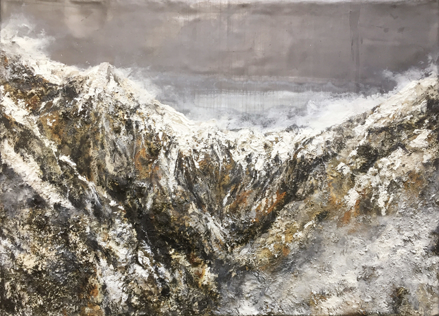 , 'Vom Wesen eines Berges,' 2018, heliumcowboy