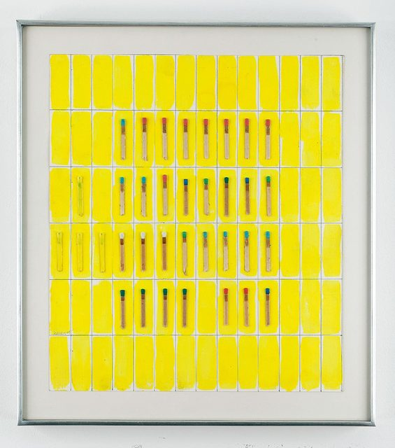 , 'Untitled (Matchsticks),' 1964, Allan Stone Projects