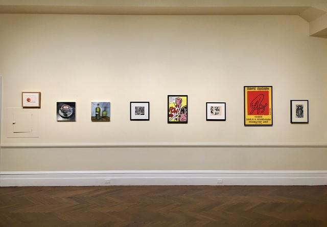 Robert Rauschenberg, 'Raffle', 2001, Print, Screenprint in 4 colors on paper, Woodward Gallery