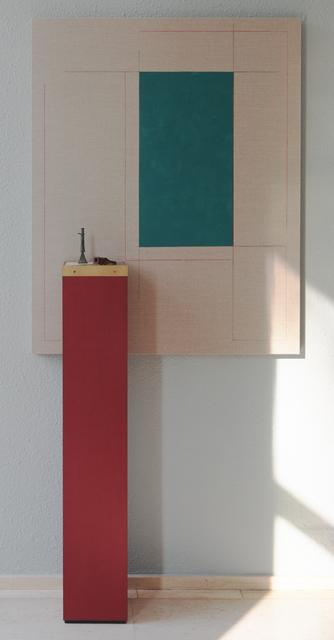 , 'Reluctant Descent,' 2016, Museum Dhondt-Dhaenens