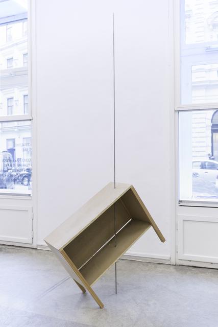 , 'Objekt 4: aufgespießt,' 2012, Christine König Galerie
