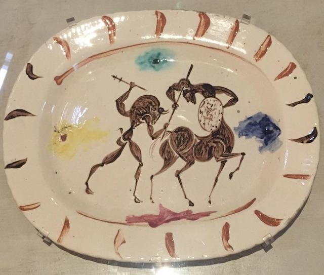 , 'Plat long (Combat entre Centaure et Minotaure),' 1957, Grob Gallery
