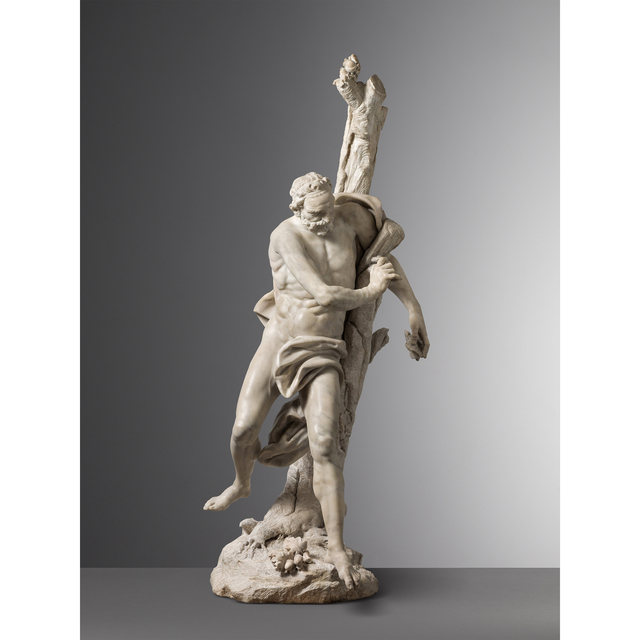 Giuseppe Piamontini, 'Milo of Croton', 1740, Carlo Orsi - Trinity Fine Art