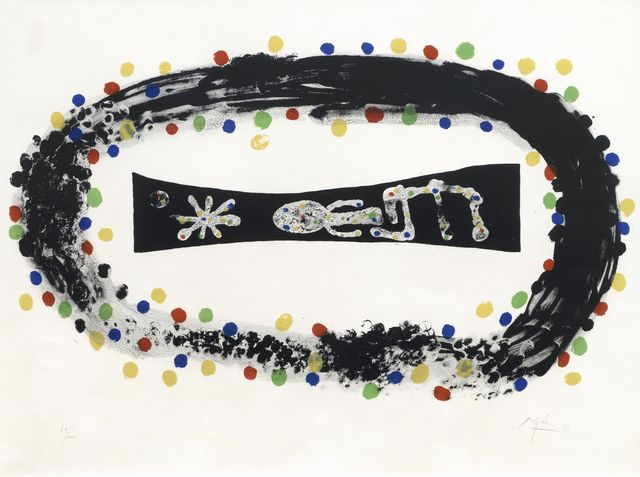 Joan Miró, 'Nebula [Mourlot 255]', 1958, Roseberys