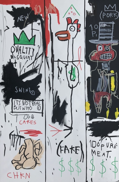 , 'Quality Basquiat,' 2018, One Arts Club