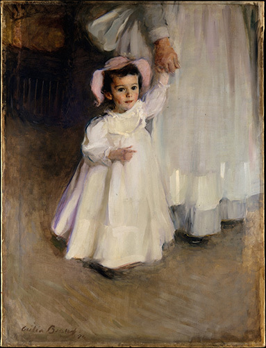 , 'Ernesta (Child with Nurse),' 1894, American Federation of Arts
