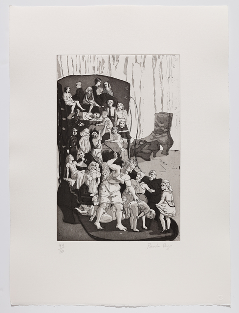 Paula Rego, 'The Old Woman who lived in a Shoe', 1989, Marlborough Graphics