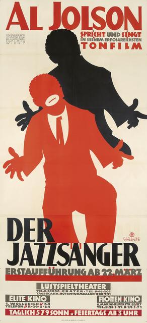 , 'Al Jolson / Der Jazzsänger,' 1929, Rennert's Gallery