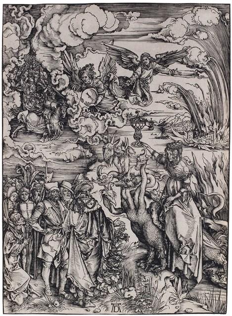 , 'Das babylonische Weib – The Babylonian Whore ,' ca. 1496, C. G. Boerner