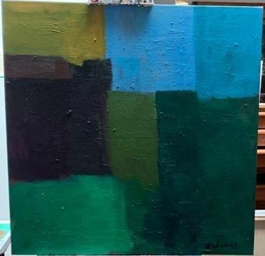 Manuel Salinas, 'untitled', 2020, Painting, Oil on canvas, Galería Marita Segovia