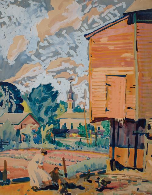 , 'Bratton's Garden, Brecksville, Ohio,' ca. 1922, WOLFS