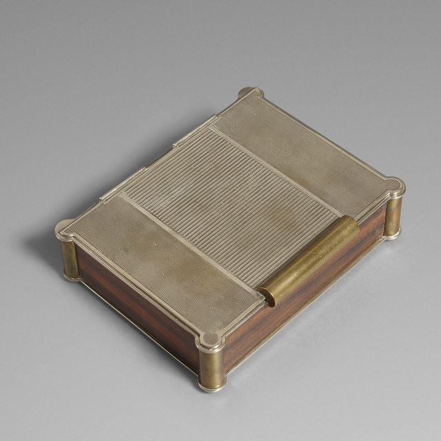 Dunhill, 'Lidded box', c. 1950, Wright