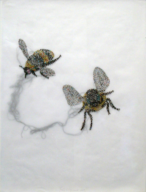 Rob Wynne, 'Two Bees', 2009, Vivian Horan Fine Art