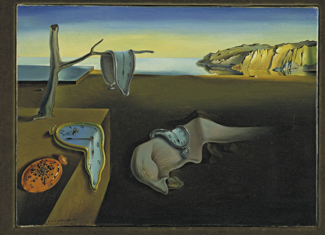 Salvador Dalí, 'The Persistence of Memory', 1931, Painting, The Museum of Modern Art