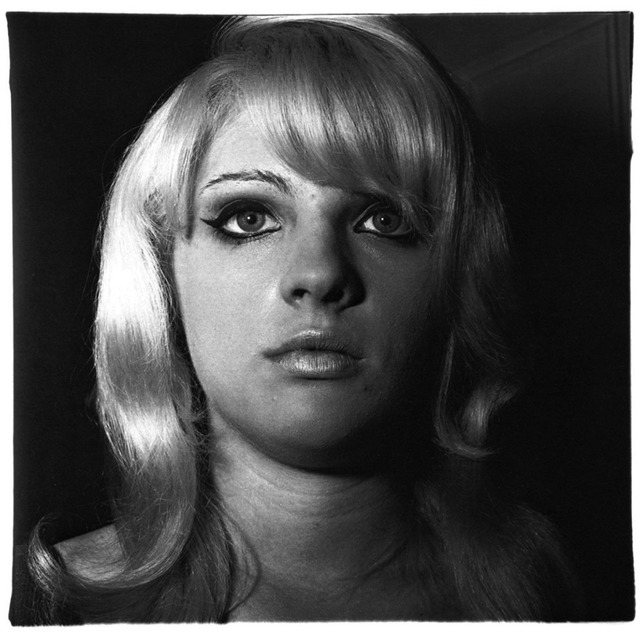 , 'Blonde girl with shiny lipstick, NYC,' 1967, ClampArt