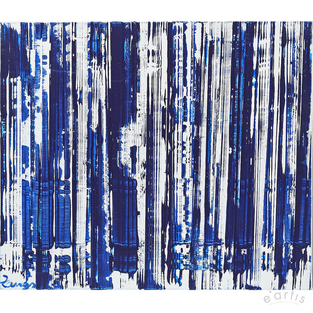 , 'Scheibenwischer Reihung Blau,' ca. 1994, e.artis contemporary