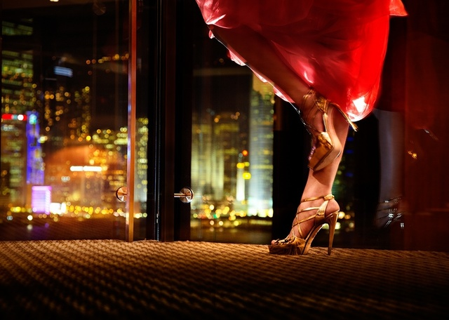 David Drebin, 'Heels In Hong Kong', 2009, Photography, Digital C-Print, Isabella Garrucho Fine Art