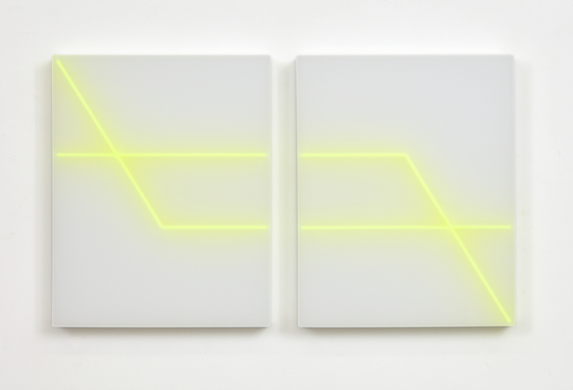, 'Sync Function (green),' 2017, Anna Pappas Gallery
