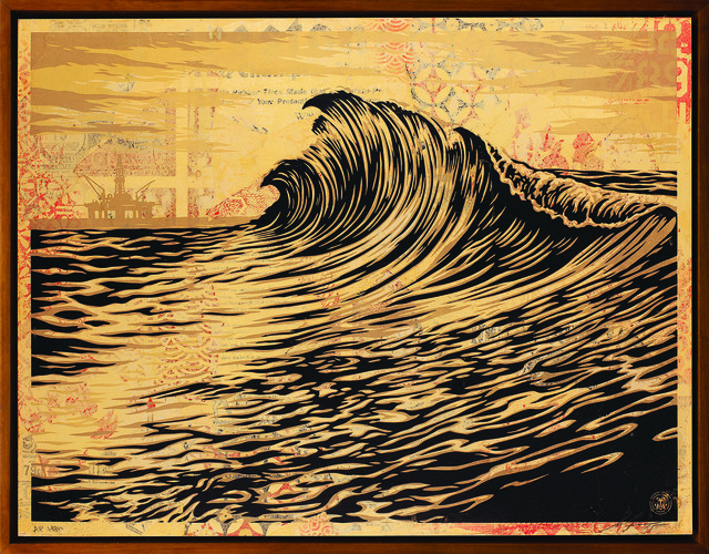 Shepard Fairey (OBEY), 'Water is the New Black', 2015, Underdogs Gallery
