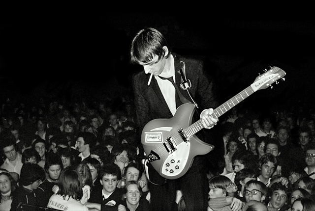 Sheila Rock, 'Paul Weller & The Jam live at Friars, Aylesbury, UK', 1978, ElliottHalls
