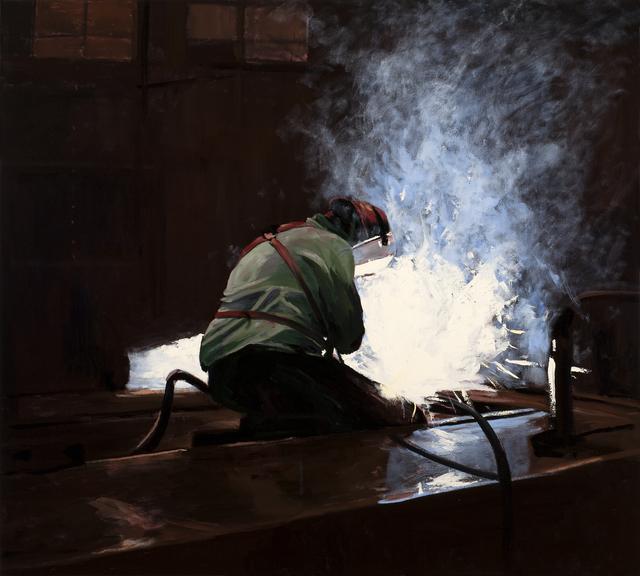 Michael Brophy, 'The Welders of Burning Alley II', 2019, Russo Lee Gallery