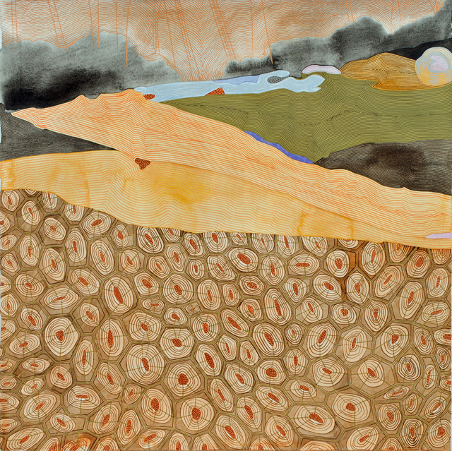, 'Untitled II (blowdown series),' 2018, Michael Warren Contemporary
