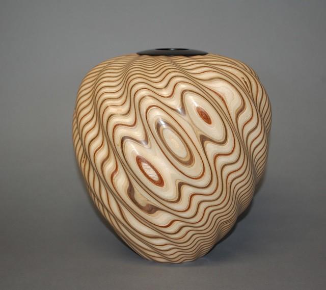 , 'Spiral Vase,' 2017, Wood Symphony Gallery