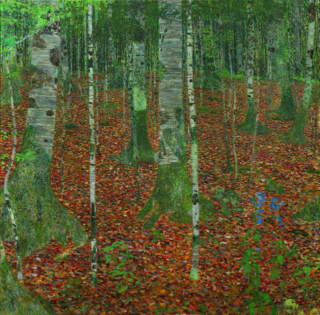 Gustav Klimt, 'Birch Forest', 1903, Seattle Art Museum