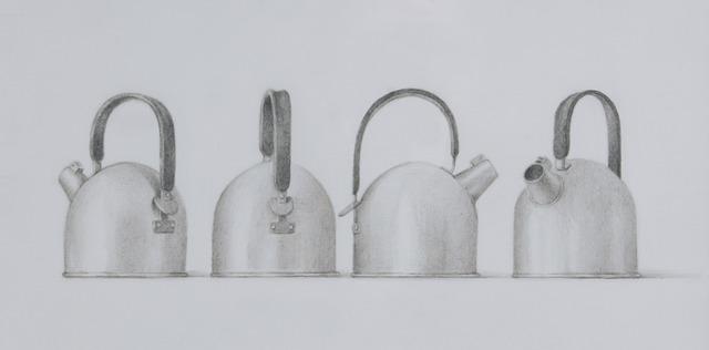 , 'Four Roman Teapots,' 2011, Clark Gallery