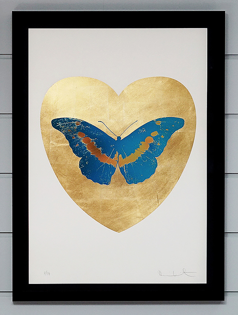 Damien Hirst, 'Butterfly - Blue/Gold', 2015, Arton Contemporary