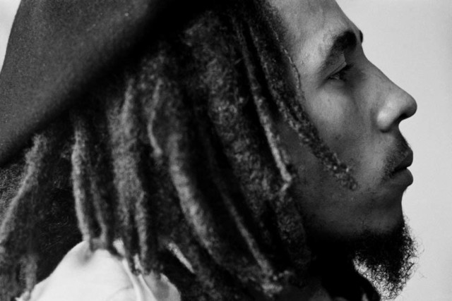 , 'Bob Marley at home (Tuff Gong) in Kingston, Jamaica,' 1976, Anastasia Photo