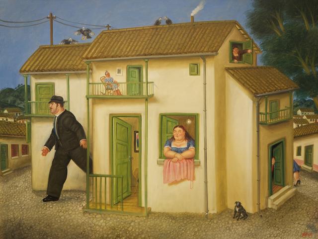 , 'House,' 1995, Athena Galeria de Arte
