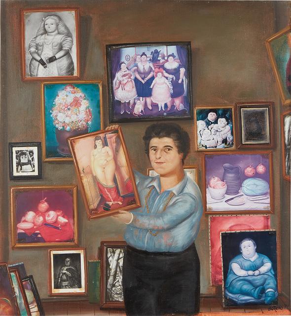 Fernando Botero, 'Portrait of Nadine Haim', 1977, Phillips