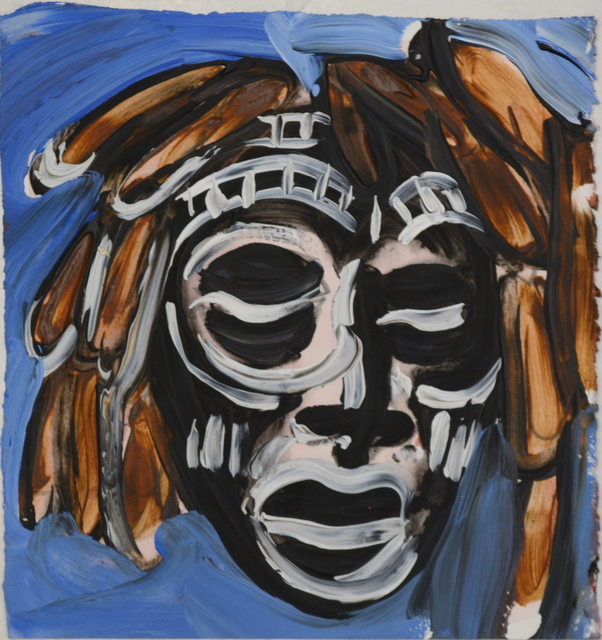 , 'African Mask,' ca. 2017, Ethan Cohen New York