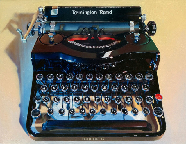, 'Russian Typewriter Model #45,' 2018, Sue Greenwood Fine Art